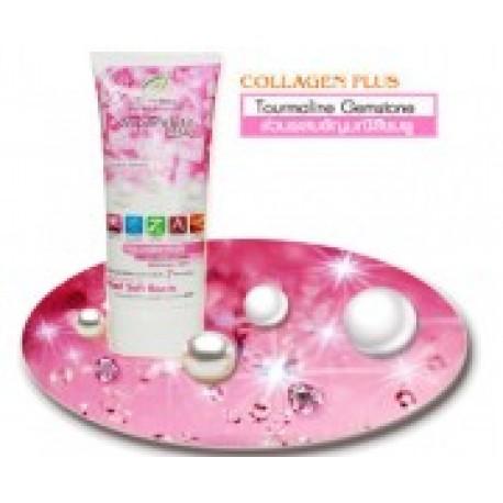 Super White Pearl & Tourmaline Purifying Facial Cleanser [สูตรคอลลาเจนพลัส]